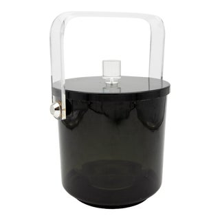 Vintage Lucite Ice Bucket For Sale