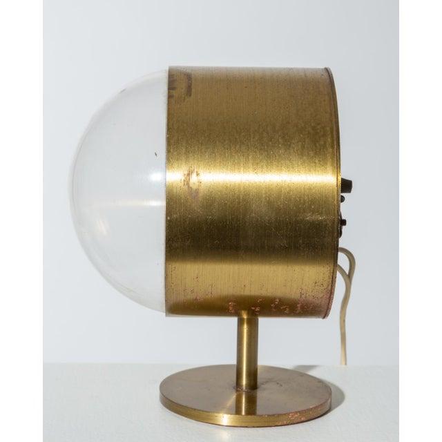 Howard Miller George Nelson Model 4766 Brass Clock for Howard Miller For Sale - Image 4 of 8