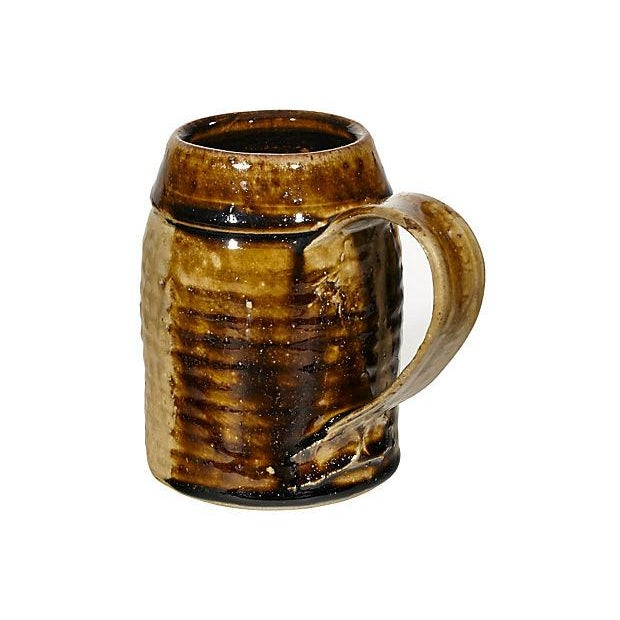 1970s Handled Pottery Mug - Image 2 of 3
