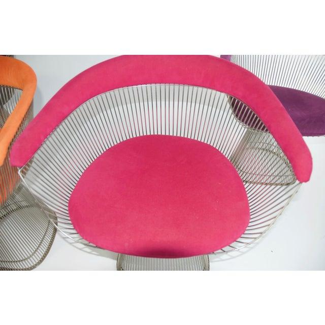 Warren Platner Set of Four Warren Platner Chairs For Sale - Image 4 of 11