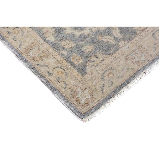 Traditional Kafkaz Peshawar Genaro Gray/Tan Wool Rug - 2'6 X 9'11 For Sale - Image 3 of 7