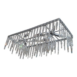 Crystal Waterfall Pendant Chandelier