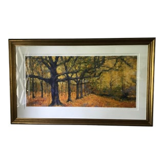 """Trees in the Fall"" Signed and Numbered Print For Sale"