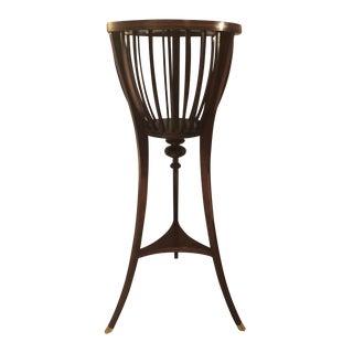 Rare Baker Furniture Historic Charleston Plant Stand
