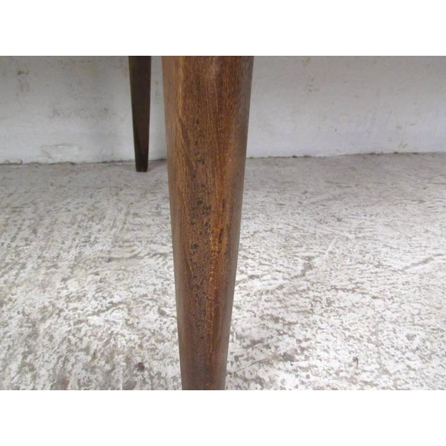 Vintage Modern Two-Tier Pivot Coffee Table For Sale - Image 10 of 11