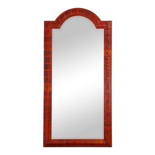 Karl Springer Red Python Mirror For Sale