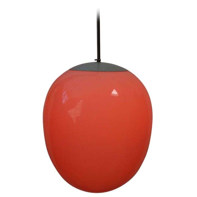 Modern Egg Pendant Light For Sale