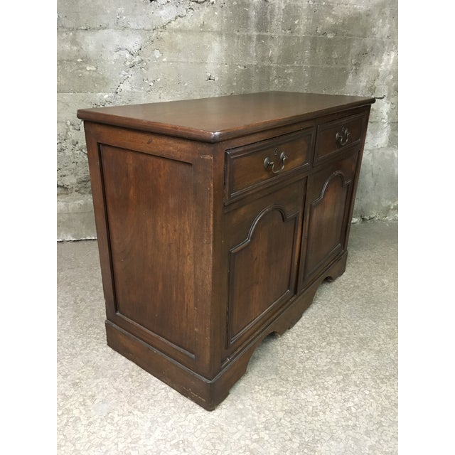 Mid 19th Century Antique English Petite Sideboard For Sale - Image 11 of 12