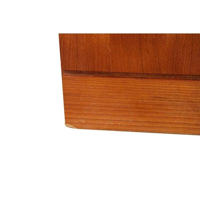 Wood Arne Wahl Iversen Teak Danish Modern Nightstands End Side Tables Pair For Sale - Image 7 of 12