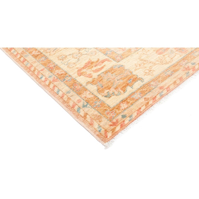 """Oushak Hand Knotted Area Rug - 9' 4"""" X 11' 9"""" - Image 2 of 4"""