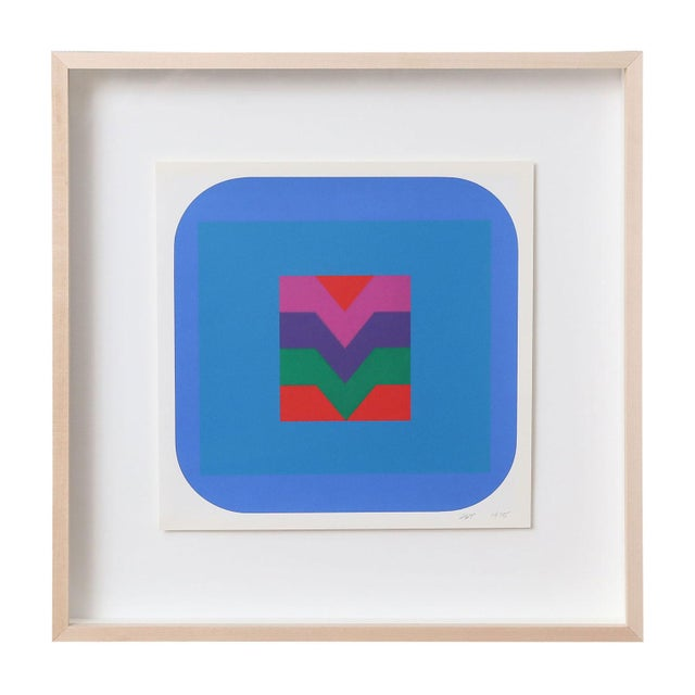 1970s Nine Framed Pfahler Serigraphs For Sale - Image 5 of 13
