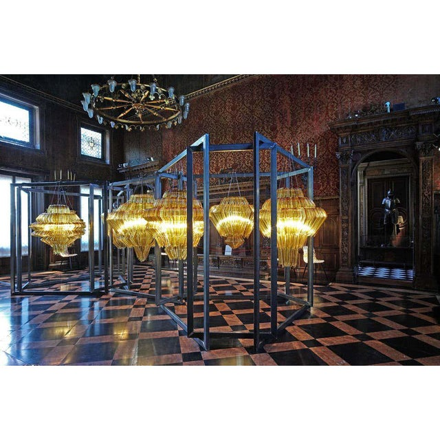 Not Yet Made - Made To Order Brilli D Chandelier in Gold Resin by Jacopo Foggini For Sale - Image 5 of 7
