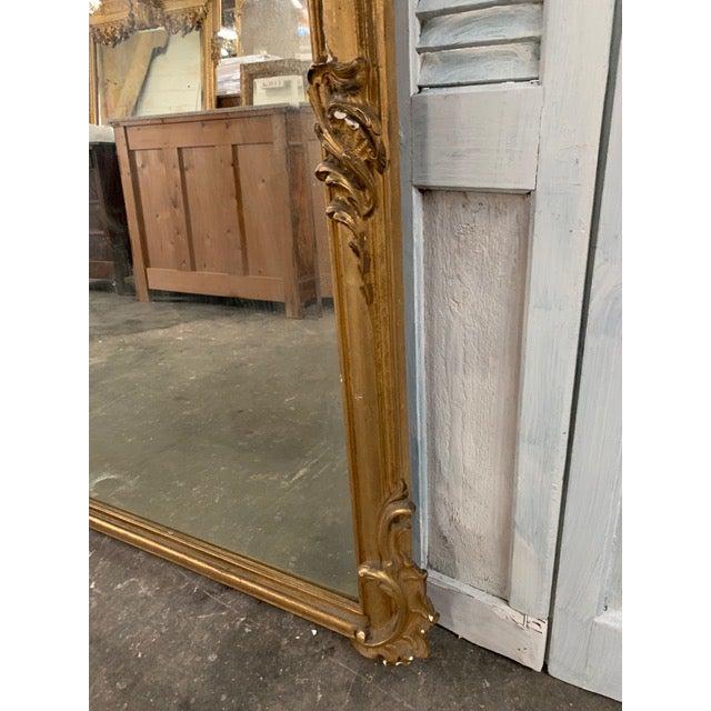 18th Century Grand Napoleon III Wall Mirror For Sale In Atlanta - Image 6 of 11