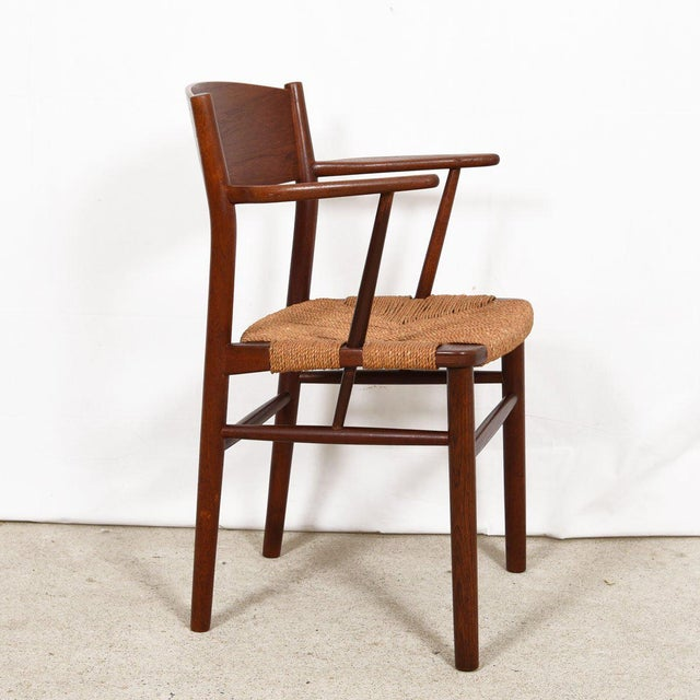 Wood Borge Mogensen Set of 10 (2 Arm + 8 Side) Danish Teak Dining Chairs For Sale - Image 7 of 9