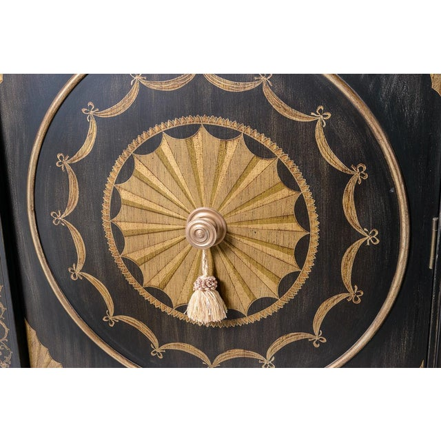 Black Marble Top Cabinet For Sale - Image 4 of 8