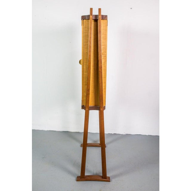 Tall Studio Cabinet in Wood by an American Craftsman For Sale - Image 4 of 10