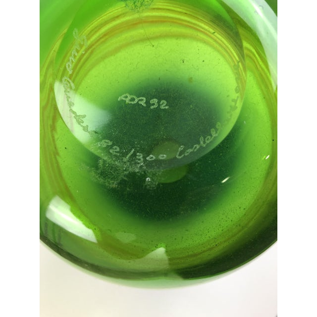 1960s Vintage Gino Cenedese Murano Vase For Sale - Image 10 of 13