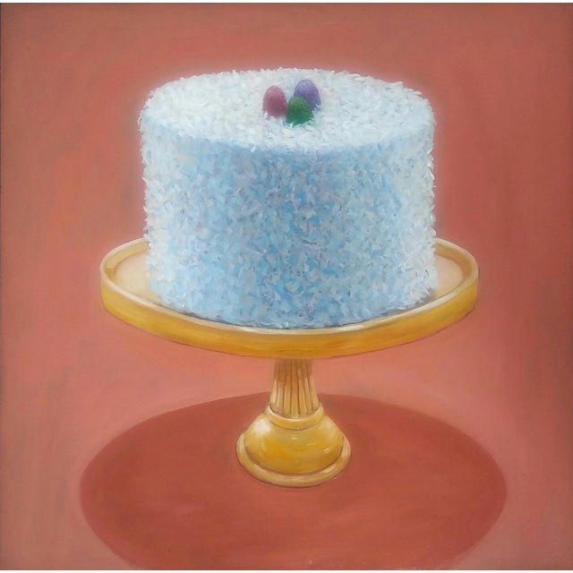 This giant coconut cake looks good enough to eat. The image is printed on velvet fine art paper that is 100% cotton fiber...