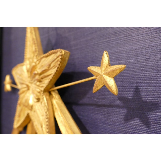 2010s Carvers' Guild Shooting Star Candle Sconce For Sale - Image 5 of 8