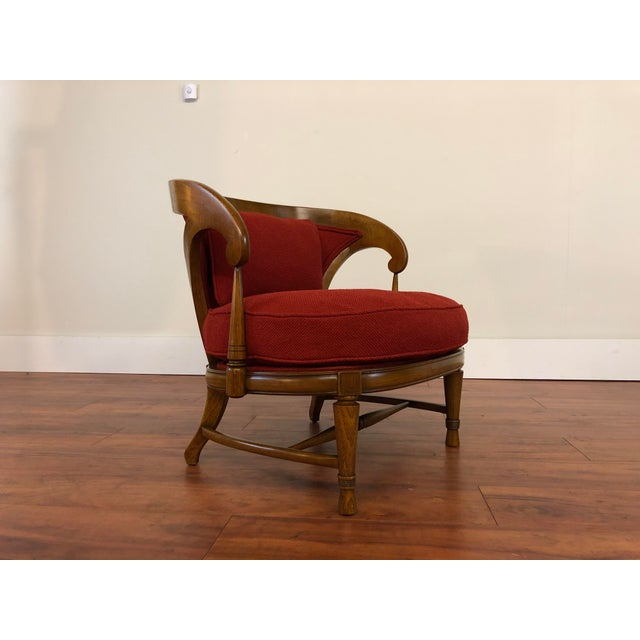 Tomlinson Sophisticate Vintage Occasional Chair For Sale - Image 13 of 13