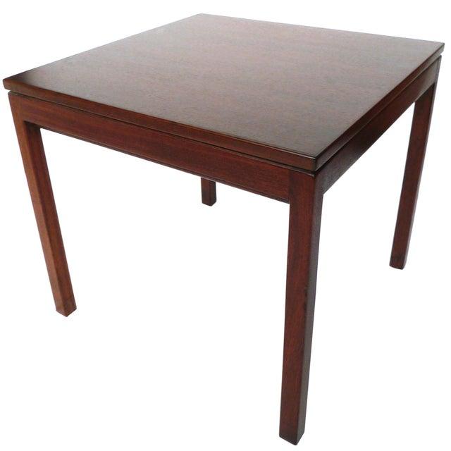 Jens Risom Danish Modern Walnut Side Table - Image 1 of 7