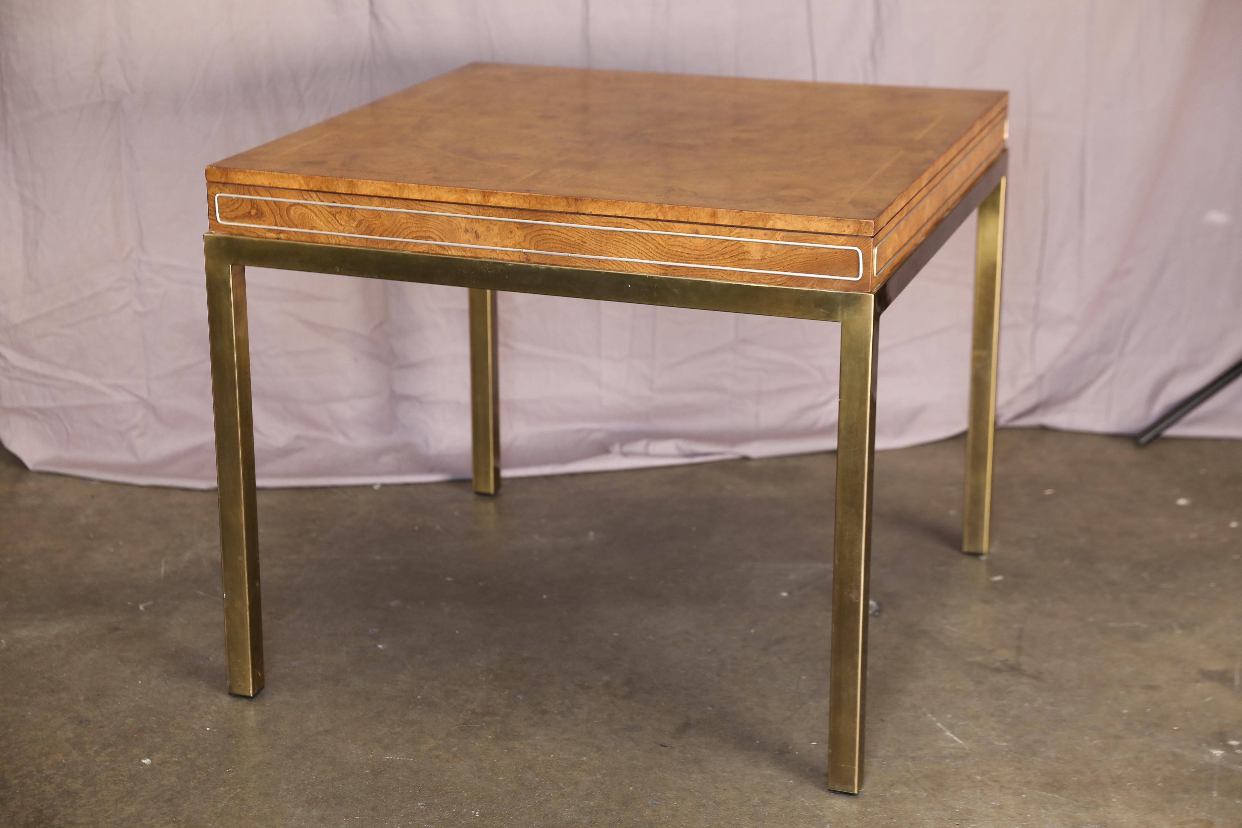 Merveilleux Mid Century Modern Game Table For Sale   Image 10 Of 10