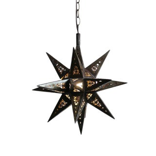 Moravian Tin Star Lantern Small For Sale