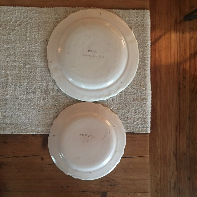 Antique Deruta Italy Pottery Dinnerware Set - 34 Pieces For Sale - Image 11 of 13