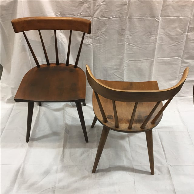 Paul McCobb Planner Group Chairs - A Pair - Image 3 of 11