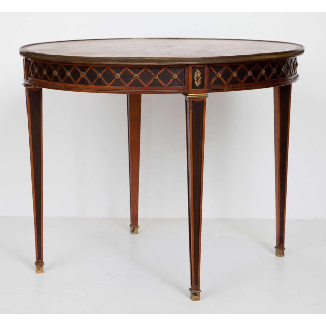 French Louis XVI Style Gueridon For Sale - Image 3 of 10