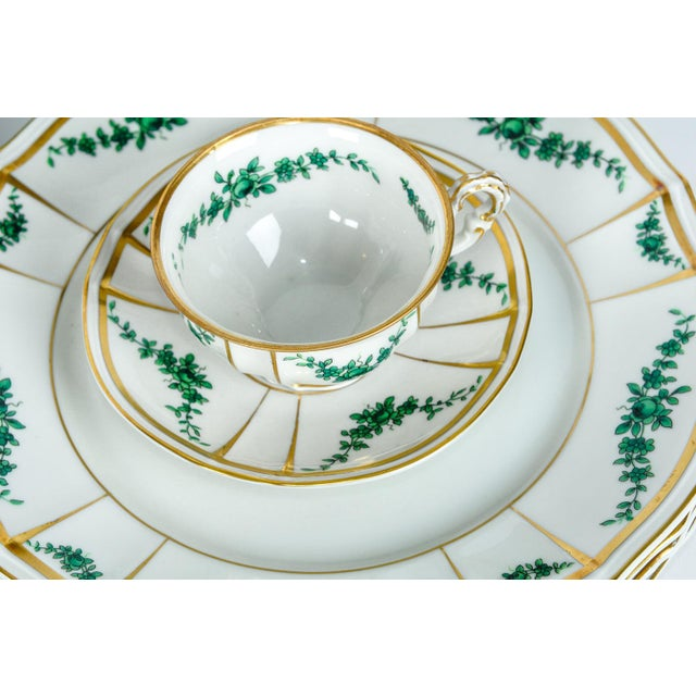 Ceramic Antique English Dinnerware Service - Set of 67 For Sale - Image 7 of 9