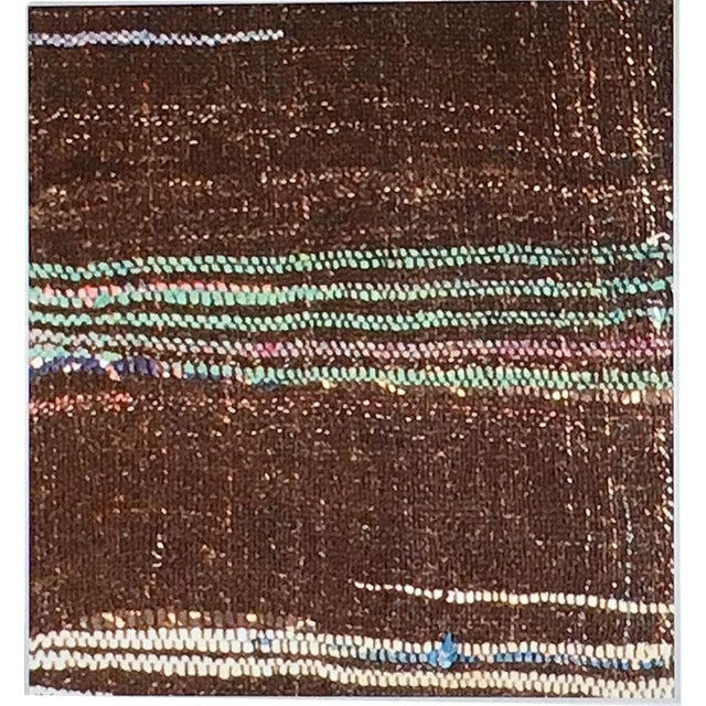 """Abstract Geometric Flat WQeave Art Deco/ Modern Rug 8'-1"""" × 9′ For Sale - Image 3 of 4"""