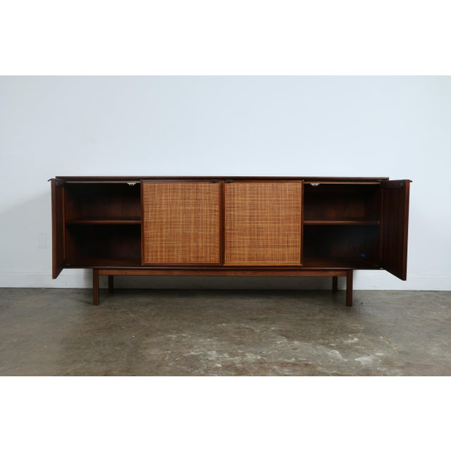 Walnut Cane Credenza by Founders - Image 4 of 11
