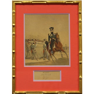 """West German Infanterie Stabsoffizier """"Duchy of Nassau"""" Painting For Sale"""
