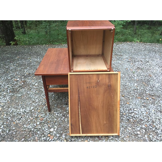 Jens Risom Mid Century Modern Cube Tables ~ a Pair For Sale - Image 11 of 13
