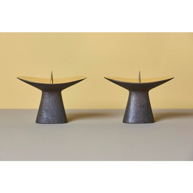 Carl Auböck Candle Holders #3469 For Sale - Image 6 of 8