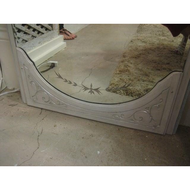 Vintage Floor Mirror - Image 4 of 6