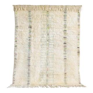 """Vintage Moroccan Azilal Wool Floor Rug, 6'2"""" x 7'8"""""""