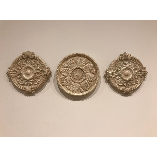 2010s Contemporary Sculptural Wall Objects - Set of 3 For Sale - Image 5 of 5