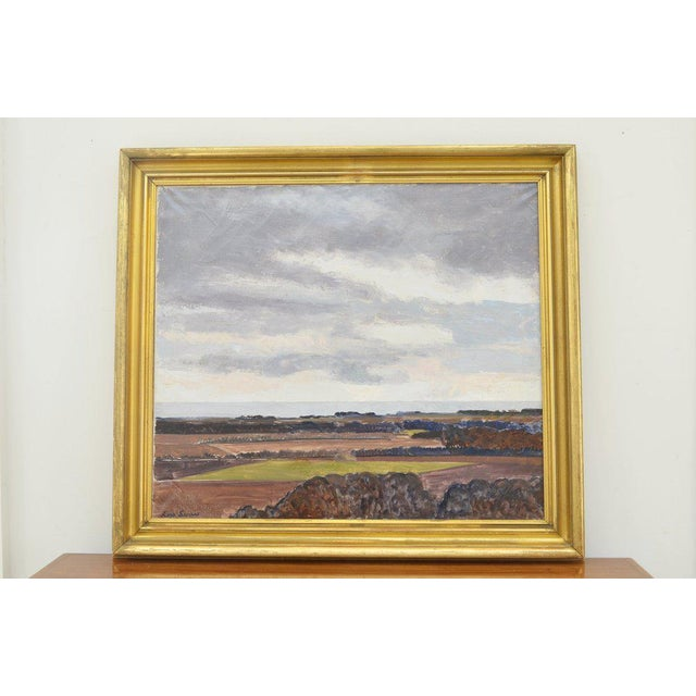 Landscape Painting by Lars Swane For Sale - Image 4 of 5