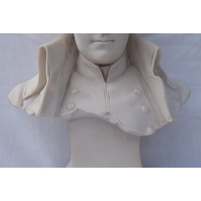 Late 19th Century Antique Parian Bust of Napoleon Bonaparte For Sale - Image 5 of 13