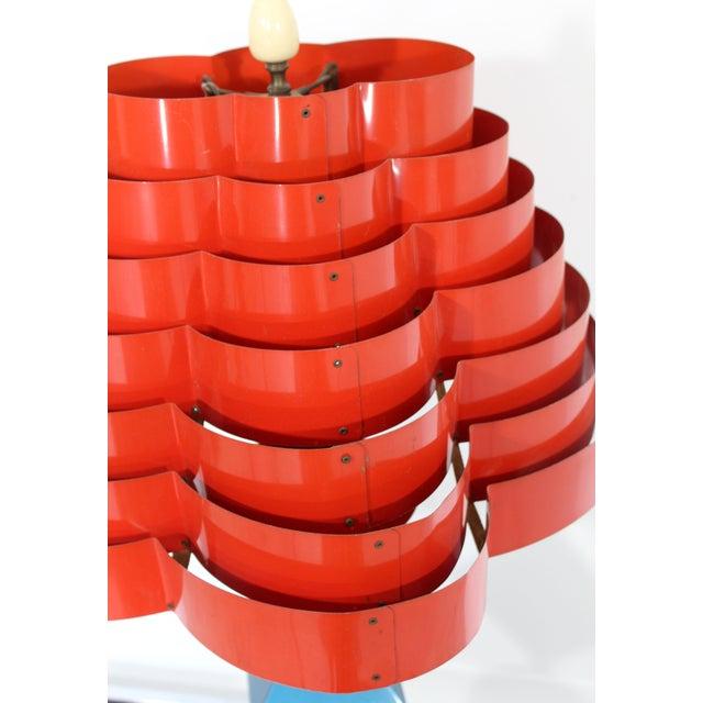 Metal 1960s Mid Century Modern Gerald Thurston Lightolier Lamp For Sale - Image 7 of 12