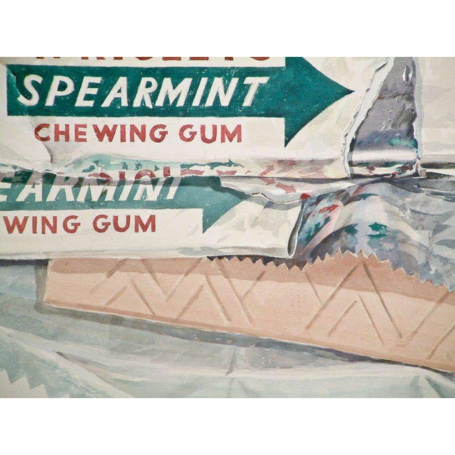 "Don Nice ""Spearmint Gum"" Watercolor on Arches Paper 1973 - Image 2 of 6"