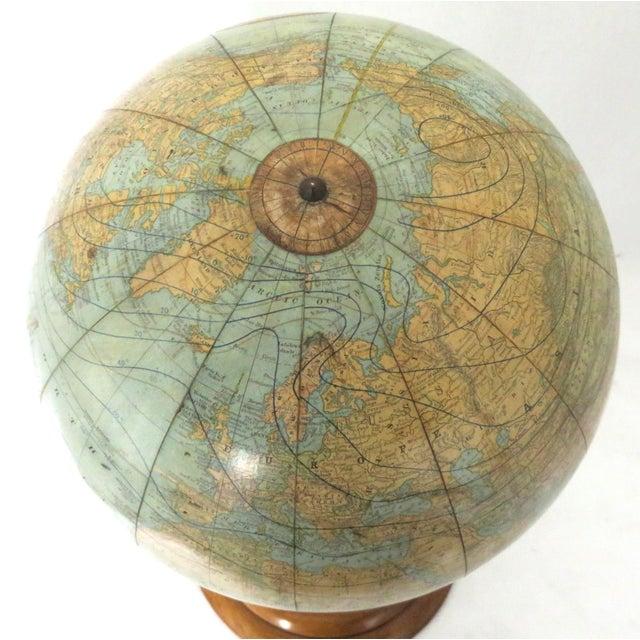 Antique Rand McNally Twelve Inch Terrestrial Globe - Atlas For Sale In Boston - Image 6 of 13
