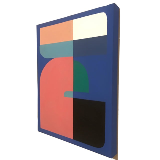 2019 Brooks Burns Abstract Geometric Triptych - Set of 3 For Sale In New York - Image 6 of 11