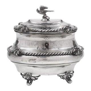 Austro-Hungarian Silver Sugar Box For Sale