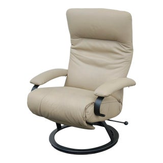 Modern Lafer Tan Recliner For Sale