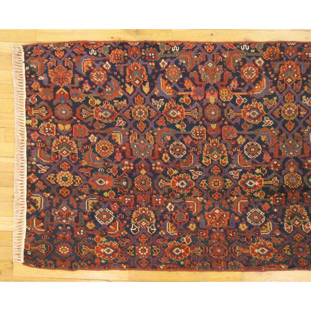 1920s Antique Persian Rug - 4′10″ × 3′ For Sale - Image 4 of 6