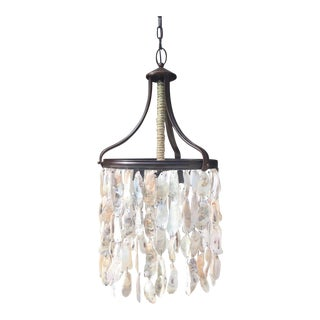 Oyster Shell Chandelier For Sale