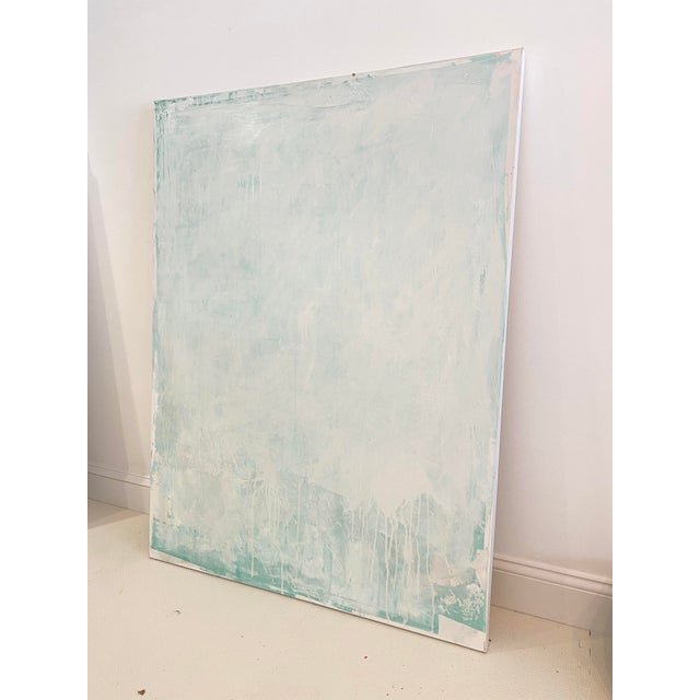 "Sarah Trundle ""A State of Mind"" Contemporary Minimalist Abstract Acrylic Painting by Sarah Trundle For Sale - Image 4 of 4"
